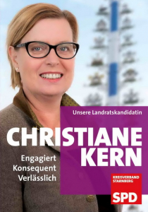 Landratskandidatin Christiane Kern